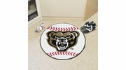 "Fan Mats 4385  Oakland University Golden Grizzlies 27"" diameter Baseball Mat"
