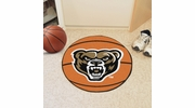 "Fan Mats 4386  Oakland University Golden Grizzlies 27"" diameter Basketball Mat"
