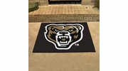 "Fan Mats 4387  Oakland University Golden Grizzlies 33.75"" x 42.5"" All Star Mat"