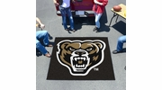 Fan Mats 4390  Oakland University Golden Grizzlies 5' x 6' Tailgater Mat