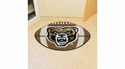 "Fan Mats 4392  Oakland University Golden Grizzlies 20.5"" x 32.5"" Football Mat"