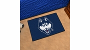 "Fan Mats 4409  UConn - University of Connecticut Huskies 19"" x 30"" Starter Series Area Rug / Mat"