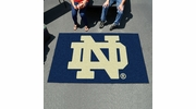 Fan Mats 4414  ND - University of Notre Dame Fighting Irish 5' x 8' Ulti-Mat Area Rug / Mat