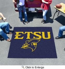 Fan Mats 446  ETSU - East Tennessee State University Buccaneers 5' x 6' Tailgater Mat / Area Rug