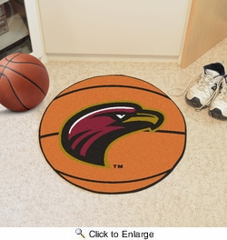 "Fan Mats 4506  ULM - University of Louisiana at Monroe Warhawks 27"" Diameter Basketball Shaped Area Rug"