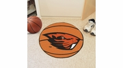 "Fan Mats 4524  OSU - Oregon State University Beavers 27"" Diameter Basketball Shaped Area Rug"