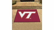 "Fan Mats 4586  VT - Virginia Tech Hokies 33.75"" x 42.5"" All-Star Series Area Rug / Mat"