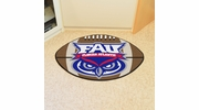 "Fan Mats 46  FAU - Florida Atlantic University Owls 20.5"" x 32.5"" Football Shaped Area Rug"