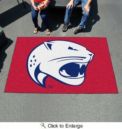 Fan Mats 4660  USA - University of South Alabama Jaguars 5' x 8' Ulti-Mat Area Rug / Mat