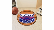 "Fan Mats 47  FAU - Florida Atlantic University Owls 27"" Diameter Basketball Shaped Area Rug"