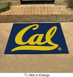 "Fan Mats 4908  Cal - University of California Berkley Golden Bears 33.75"" x 42.5"" All-Star Series Area Rug / Mat"