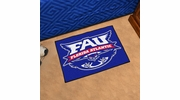 "Fan Mats 51  FAU - Florida Atlantic University Owls 19"" x 30"" Starter Series Area Rug / Mat"