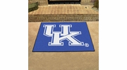 "Fan Mats 5105  UK - University of Kentucky Wildcats 33.75"" x 42.5"" All-Star Series Area Rug / Mat"
