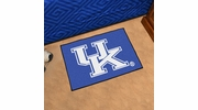 "Fan Mats 5106  UK - University of Kentucky Wildcats 19"" x 30"" Starter Series Area Rug / Mat"