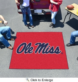 Fan Mats 5131  Ole Miss - University of Mississippi Rebels 5' x 6' Tailgater Mat / Area Rug