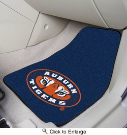 "Fan Mats 5144  AU - Auburn University Tigers 17"" x 27"" Carpeted Car Mat Set"