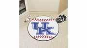 "Fan Mats 5161  UK - University of Kentucky Wildcats 27"" Diameter Baseball Shaped Area Rug"