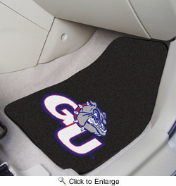 "Fan Mats 5177  Gonzaga University Bulldogs 17"" x 27"" Carpeted Car Mat Set"