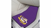 "Fan Mats 5265  LSU - Louisiana State University Tigers 17"" x 27"" Carpeted Car Mat Set"