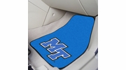 "Fan Mats 5273  MTSU - Middle Tennessee State University Blue Raiders 17"" x 27"" Carpeted Car Mat Set"