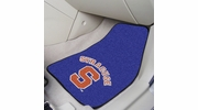 "Fan Mats 5321  SU - Syracuse University Orange 17"" x 27"" Carpeted Car Mat Set"