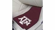 "Fan Mats 5327  Texas A&M University Aggies 17"" x 27"" Carpeted Car Mat Set"