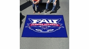 Fan Mats 54  FAU - Florida Atlantic University Owls 5' x 8' Ulti-Mat Area Rug / Mat