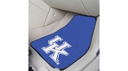 "Fan Mats 5451  UK - University of Kentucky Wildcats 17"" x 27"" Carpeted Car Mat Set"