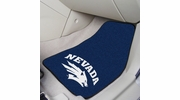 "Fan Mats 5467  UNR - University of Nevada, Reno Wolf Pack 17"" x 27"" Carpeted Car Mat Set"