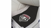 "Fan Mats 5469  UNM - University of New Mexico Lobos 17"" x 27"" Carpeted Car Mat Set"
