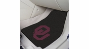 "Fan Mats 5473  OU - University of Oklahoma Sooners 17"" x 27"" Carpeted Car Mat Set"