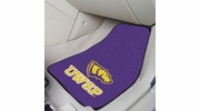 "Fan Mats 5495  University Of Wisconsin-Stevens Point Pointers 17"" x 27"" 2-pc Carpet Car Mat Set"