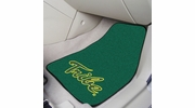 """Fan Mats 5517  William & Mary Tribe 17"""" x 27"""" Carpeted Car Mat Set"""