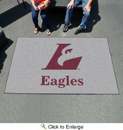 Fan Mats 552  UW-L - University of Wisconsin La Crosse Eagles 5' x 8' Ulti-Mat Area Rug / Mat