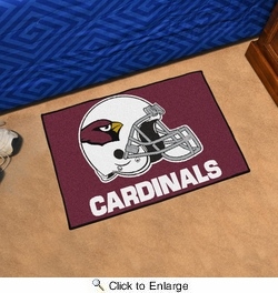 "Fan Mats 5661  NFL - Arizona Cardinals 19"" x 30"" Starter Series Area Rug / Mat"