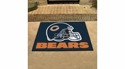 "Fan Mats 5709  NFL - Chicago Bears 33.75"" x 42.5"" All-Star Series Area Rug / Mat"