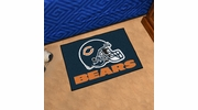 "Fan Mats 5713  NFL - Chicago Bears 19"" x 30"" Starter Series Area Rug / Mat"