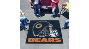 Fan Mats 5714  NFL - Chicago Bears 5' x 6' Tailgater Mat / Area Rug