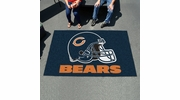 Fan Mats 5715  NFL - Chicago Bears 5' x 8' Ulti-Mat Area Rug / Mat