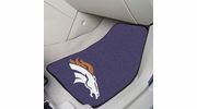 "Fan Mats 5717  NFL - Denver Broncos 17"" x 27"" Carpeted Car Mat Set"