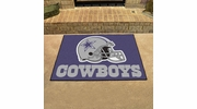 "Fan Mats 5723  NFL - Dallas Cowboys 33.75"" x 42.5"" All-Star Series Area Rug / Mat"