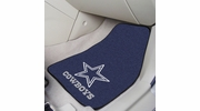 "Fan Mats 5724  NFL - Dallas Cowboys 17"" x 27"" Carpeted Car Mat Set"