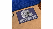 "Fan Mats 5727  NFL - Dallas Cowboys 19"" x 30"" Starter Series Area Rug / Mat"