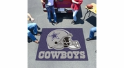 Fan Mats 5728  NFL - Dallas Cowboys 5' x 6' Tailgater Mat / Area Rug