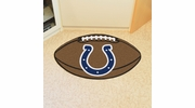 """Fan Mats 5749  NFL - Indianapolis Colts 20.5"""" x 32.5"""" Football Shaped Area Rug"""