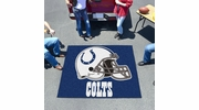 Fan Mats 5751  NFL - Indianapolis Colts 5' x 6' Tailgater Mat / Area Rug