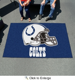 Fan Mats 5752  NFL - Indianapolis Colts 5' x 8' Ulti-Mat Area Rug / Mat