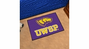 "Fan Mats 576  UWSP - University of Wisconsin Stevens Point Pointers 19"" x 30"" Starter Series Area Rug / Mat"
