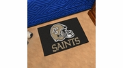 "Fan Mats 5772  NFL - New Orleans Saints 19"" x 30"" Starter Series Area Rug / Mat"