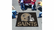 Fan Mats 5773  NFL - New Orleans Saints 5' x 6' Tailgater Mat / Area Rug